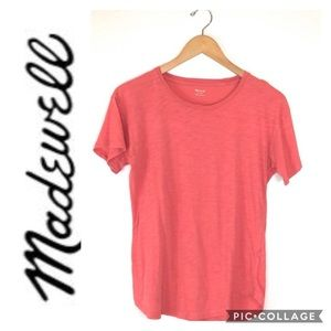 Madewell   Red / Coral T-Shirt sz XS